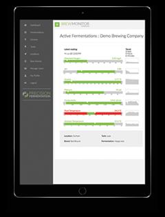 BrewMonitor Console - Fermentation Monitoring