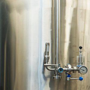 Spunding Valve on a Fermentation Tank